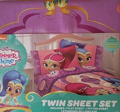 Kids' Sheet Sets - Shimmer and Shine Twin Sheets ** Check this awesome product by going to the link at the image.