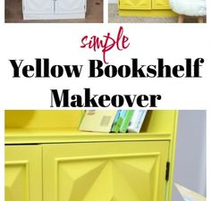 Simple Bookcase Makeover by Rain on a Tin Roof | HomeRight
