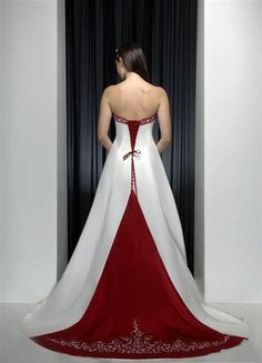 I really want atleast one of my girls to get married at Christmas time to be able to wear this!!