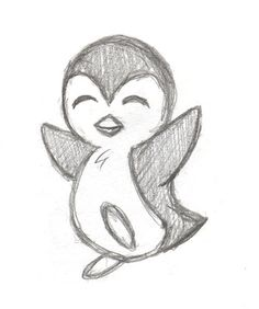 II of my new Penguin series. Part I: Btw, every penguin took my about 2 min Part II of my new Penguin series. Part I: Btw, every penguin took my about 2 min.Part II of my new Penguin series. Part I: Btw, every penguin took my about 2 min. Easy Disney Drawings, Cute Easy Drawings, Art Drawings Sketches Simple, Pencil Art Drawings, Doodle Drawings, Drawing Tips, Drawing Ideas, Simple Animal Drawings, Werewolf Drawings