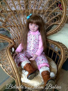 REBORN STUNNING TODDLER BIG GIRL NICOLE DOLL BY NATALI BLICK OOAK in Dolls & Bears, Dolls, Clothing & Accessories, Artist & Handmade Dolls   eBay