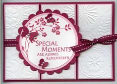 Image detail for -Stamps: Thoughts and Prayers (Stampin Up)