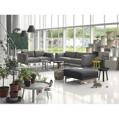 "Home interior by Muuto. Want the sofa ""Rest"" so bad."