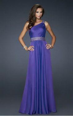 Cheap Dresses New Zealand Online Sale, Discount Royal Blue A-line Floor-length One Shoulder Dress Store
