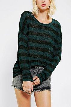 ee4c4d51635 BDG Stripe Tunic Sweater