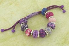 directions on how to make your own Pandora-esque collectible beads--- premo! Bead Core Bracelet | Polyform Products Company