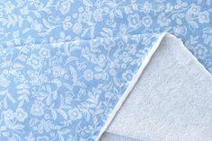 Japanese Fabric mini French Terry Knit  woodblock от MissMatatabi трикотаж