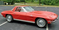 1964 Corvette C2 StingRay - Extremely cool car.  Having the convertible with the hard top is like having three cars in one.