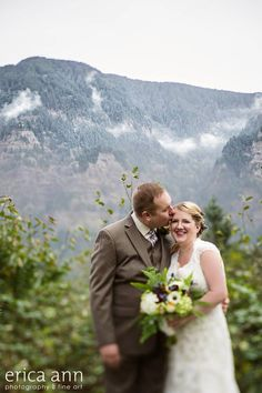 The view at Cape Horn Estate - Skamania WA Portland OR Vancouver Wa Wedding Venue