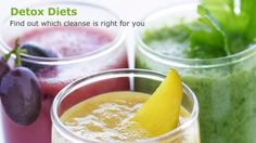 Detox 101: Find out which detox diet is right for you