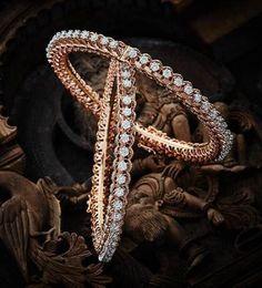 elegant diamond bracelets which truly are Gorgeous Diamond Bracelets, Silver Bracelets, Bangle Bracelets, Diamond Jewelry, Silver Jewellery Indian, Silver Jewelry, Silver Ring, Jewelry Box, Indian Bangles