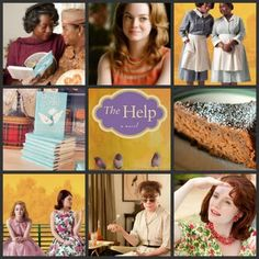 The Help. I loved this book and movie! The pie is making me a little nauseous. Book Tv, The Book, Movies Showing, Movies And Tv Shows, New Movies, Good Movies, Dallas Howard, Dinner And A Movie, Southern Ladies
