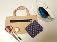 ファスナーポケットの作り方*既製バッグにファスナーポケットを後付け!|Riche【リッシュ】
