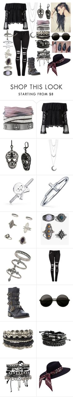 """""""Untitled #579"""" by a-mashup-of-band-names ❤ liked on Polyvore featuring Stella & Dot, Witchery, Betsey Johnson, Mudd, Bling Jewelry, Miss Selfridge, Boohoo, Steve Madden and ASOS"""