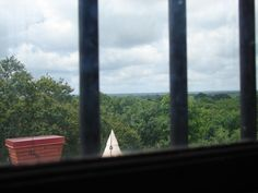 Austin County Jail Museum  Bellville, Tx  2007    The view from the very top