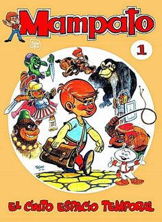 Los comics de Machete: Mampato en El cinto Espacio Temporal