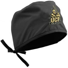 UCF Knights Black Scrub Cap by Football Fanatics. $19.95. Team logo and colors. Quality embroidery. Made in Mexico from American fabric. One size fits most. Drawstring closure. This scrub cap is perfect for the big UCF fan in the ER or doctor's office!Quality embroideryTeam logo and colorsDrawstring closureOne size fits mostMade in Mexico from American fabric65% Polyester/35% CottonOfficially licensed NCAA product