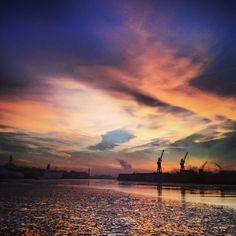 The port of Gothenburg, Göteborg.
