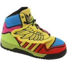 sports shoes 0beb7 23002 Adidas ObyO JS Wings I - Jeremy Scott (sun  poppy  black) G61110 - 99.99