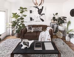 DOMINO:One Couple Turned a 650 Sq Ft Rental into a Plant-Filled Boho Oasis