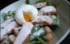Recette - Salade césar au poulet | Notée 4/5
