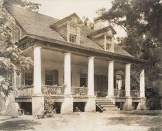 Asphodel Plantation, Antebellum Greek Revival House, Built in 1822 by Benjamin and Carolyn Kendrick, Photography by Robert Tebbs, Louisiana