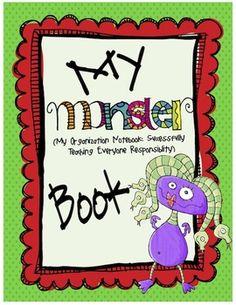 So, what is a Monster Organizational Binder?    The Monster binder is a 3-ring notebook that students use everyday to develop organizational skills and responsibility.  This 3-ring binder houses EVERYTHING your students and you need to keep up-to-date with what is going on in your classroom and at school. Everything will be right here in the Monster Binder!