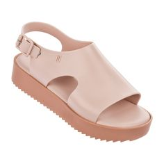 online shopping for Melissa Women's Hotness Flatform Sandals from top store. See new offer for Melissa Women's Hotness Flatform Sandals Wrap Shoes, Ankle Wrap Sandals, Pink Sandals, Ankle Strap Shoes, Shoes Sandals, Nude Shoes, Strap Sandals, Melissa Shoes, Spring Heels