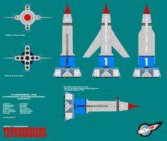 Gerry Andersons Thunderbirds Thunderbird 1 by ArthurTwosheds.deviantart.com on @deviantART