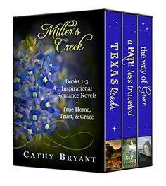 MILLER'S CREEK COLLECTION 1 by Cathy Bryant  I have read the first two books so far (own all 6) and I really enjoyed them!
