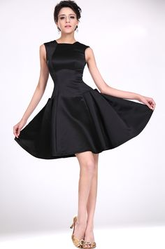 Simple, elegant, Little Black Dress every Woman needs one...