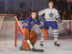 Ed Giacomin, my fave goalie and the Best one of all time (I even met him and got an autograph)! Rangers Hockey, Hockey Goalie, Hockey Players, Hockey Gear, Hockey Stuff, Field Goal Kicker, Nhl, Maple Leafs Hockey, Goalie Mask