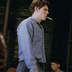 Image result for evan peters kit walker smoking gif
