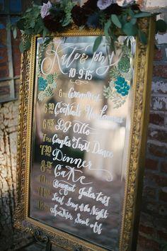 vintage mirror program | Lauren Carroll Photography | Glamour & Grace