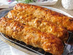 Mince Recipes, Czech Recipes, New Menu, What To Cook, Barbecue, Sausage, Pork, Food And Drink, Treats