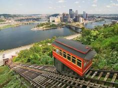 """Something """"Fun""""icular about PIttsburgh.  If you're a city snob, ride the subway in New York and enjoy the view."""