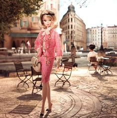 European Couture Doll Lines  The 2012 Barbie Fashion Model Collection Based on 'Atelier' Theme