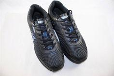 Gravity Defyer Mens FLEXNET ll Comfort Sneakers BLACK BLUE NAVY RETAIL FOR $159 #GravityDefyer #AthleticSneakers