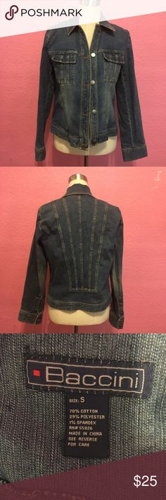 Jean jacket   Denim jacket Jean jacket   Denim jacket baccini Jackets & Coats Jean Jackets