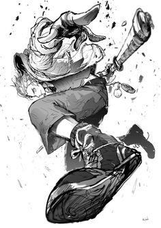 @runba2020: ルンベル2019-02-07 21:21鶴丸 Anime Drawings Sketches, Anime Sketch, Manga Drawing, Figure Drawing, Manga Art, Anime Art, Cool Drawings, Drawing Reference Poses, Drawing Poses