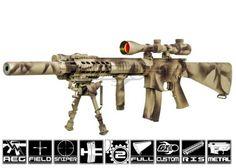 Airsoft GI Custom Lone Survivor Marcus Luttrell SPR Airsoft Gun