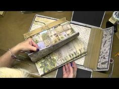 Altering Tim Holtz Large Folio - Pockets and Inserts, Part 6 - YouTube