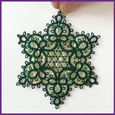 Tatting 39 Star Ornament by Murphy's Designs