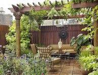 imagen Un apartamento con un jardín privado increíble