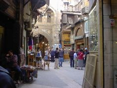 Old Cairo where Lucinda and Nero travel to get to the Coptic and the final battle.