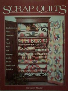 Scrap Quilts by Judy Martin. $6.50, via Etsy.