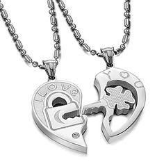 79385a99010c Las 67 mejores imágenes de Collares y pulseras para parejas ...