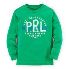 Cotton Long-Sleeve Graphic Tee - Boys 2-7 Tees & Sweatshirts - RalphLauren.com