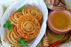 Zlabia (jalebi) - marokański lany chrust
