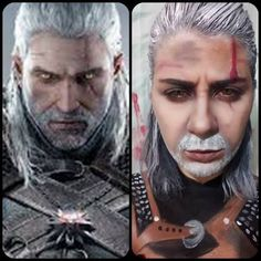 Makeup Inspired: Geralt Of Rivia
